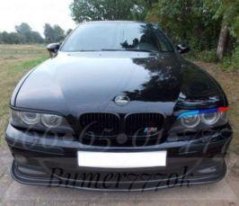Накладка на М бампер BMW e39 БМВ е39 губа елерон сплиттер тюнинг