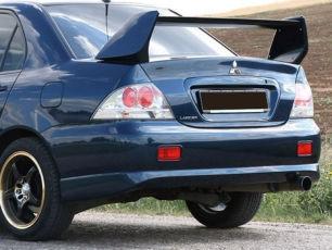 Юбка на Mitsubishi Lancer 9 Накладка на бампер задний Лансер 9 Тюнинг