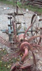картопле копалка польська кінна перероблена до трактора
