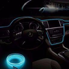 Неоновый Neon light Холодный светящийся неон,люминисцентный провод 5м