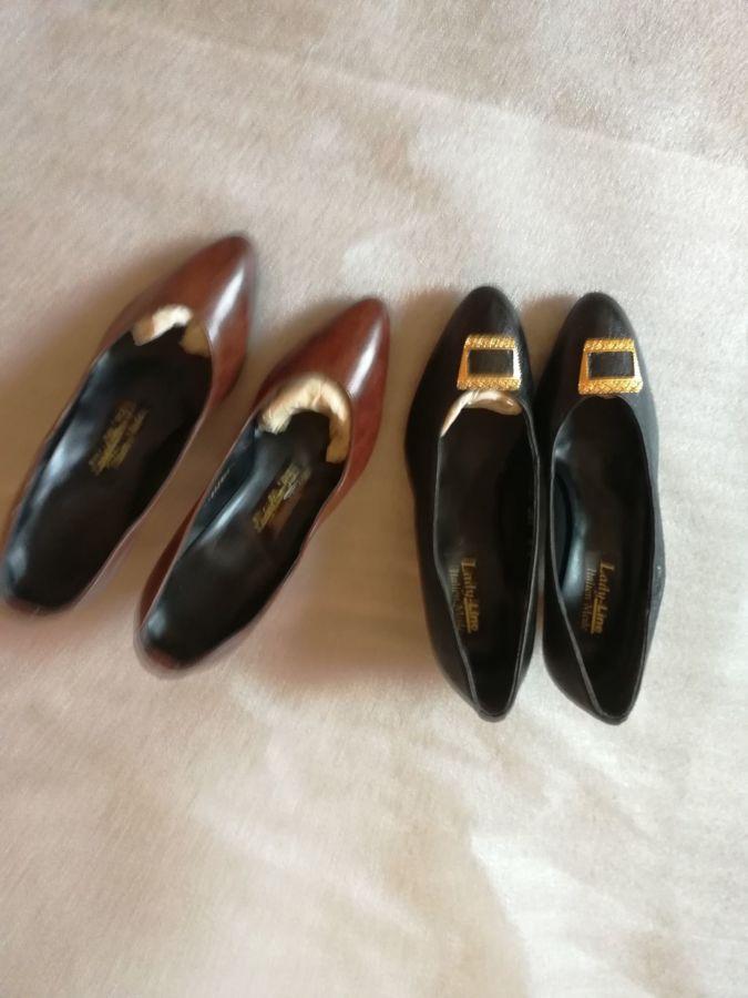 Туфлі жіночі шкіряні коричневі
