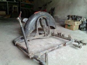 Рама коляски К750, МТ, М72