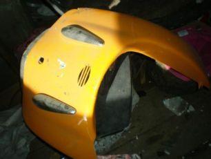 Скутер Трува облицовка-пластик
