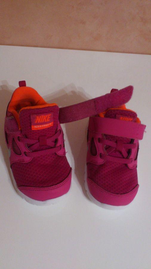 Кроссовки для девочек Nike Free Run 5 (580595-600)+ носочки в подарок