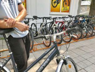 велосипед дамский женский б.у из Германии велосипеды бу недорого Днепр
