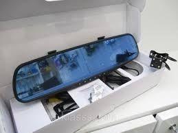 Зеркало заднего вида с видеорегистратором на 2 камеры 138W 4`3