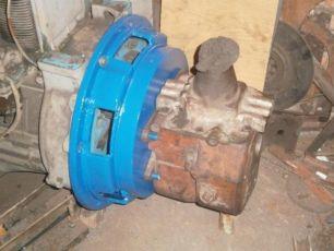 Перехідна плита переходная плита з Т40-25 ГАЗ-ЗИЛ / MAN 8,136-8,163