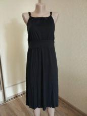 Платье трикотажное летнее, сарафан. Открытая спина