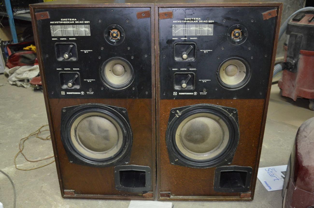 Акустическая система 35АС-201 Колонки Radiotehnika