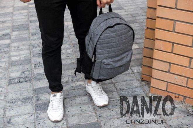 cf982f469c63 Рюкзак городской NIKE TIR серый мужской спортивный портфель сумка 2 ...