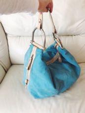 Baldinini, оригинал, дорожная сумка цвета тиффани