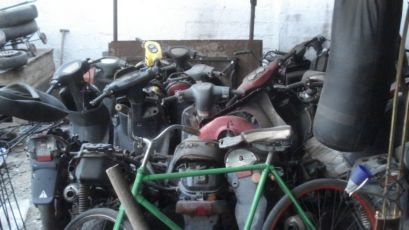 Разборка скутеров