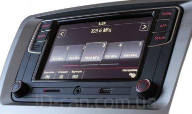 Оригинал Автомагнитола VW Passat B7 американец MIB2-G Carplay АА