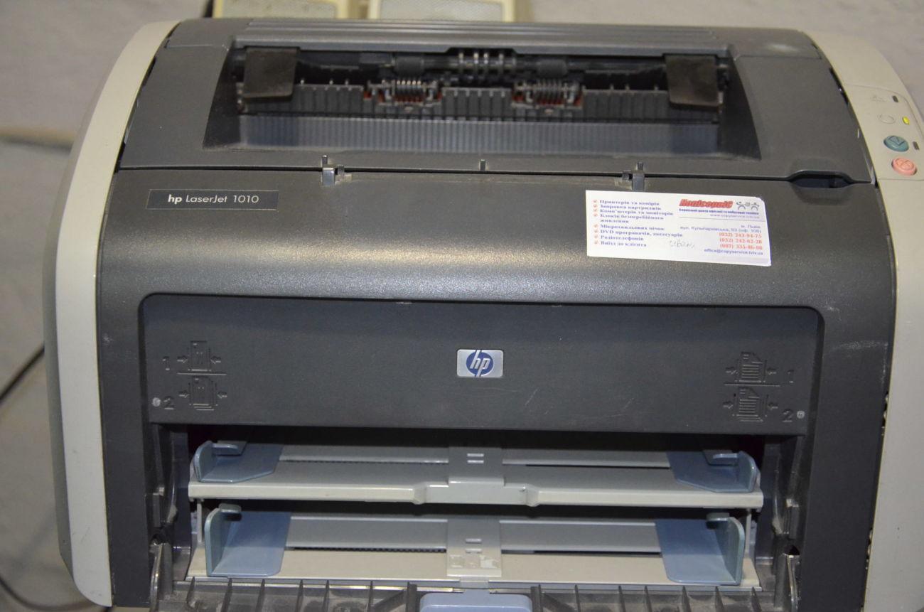 Лазерный принтер HP LaserJet 1010 Идеальная печать