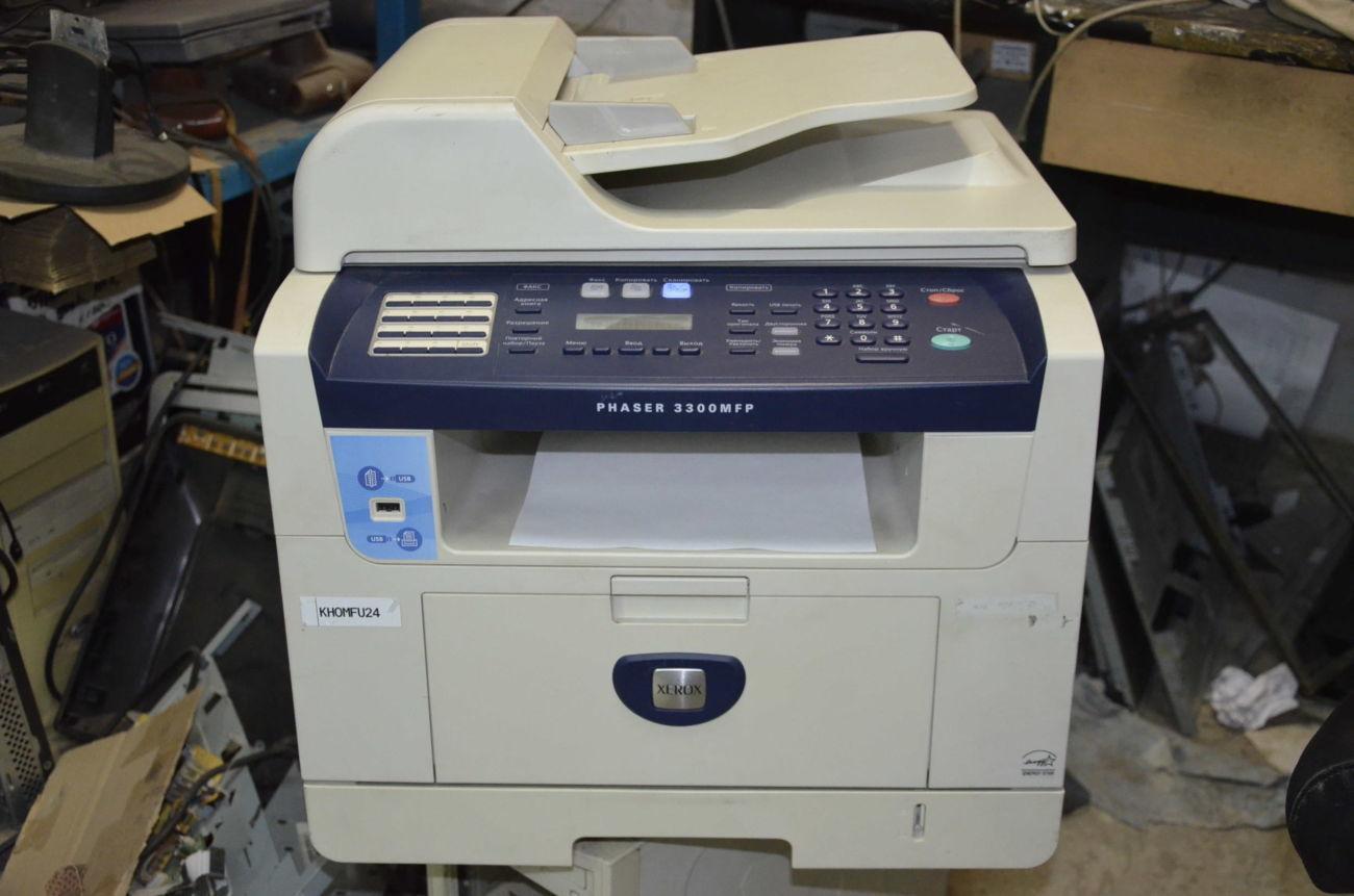 Лазерное МФУ Xerox Phaser 3300 MFP