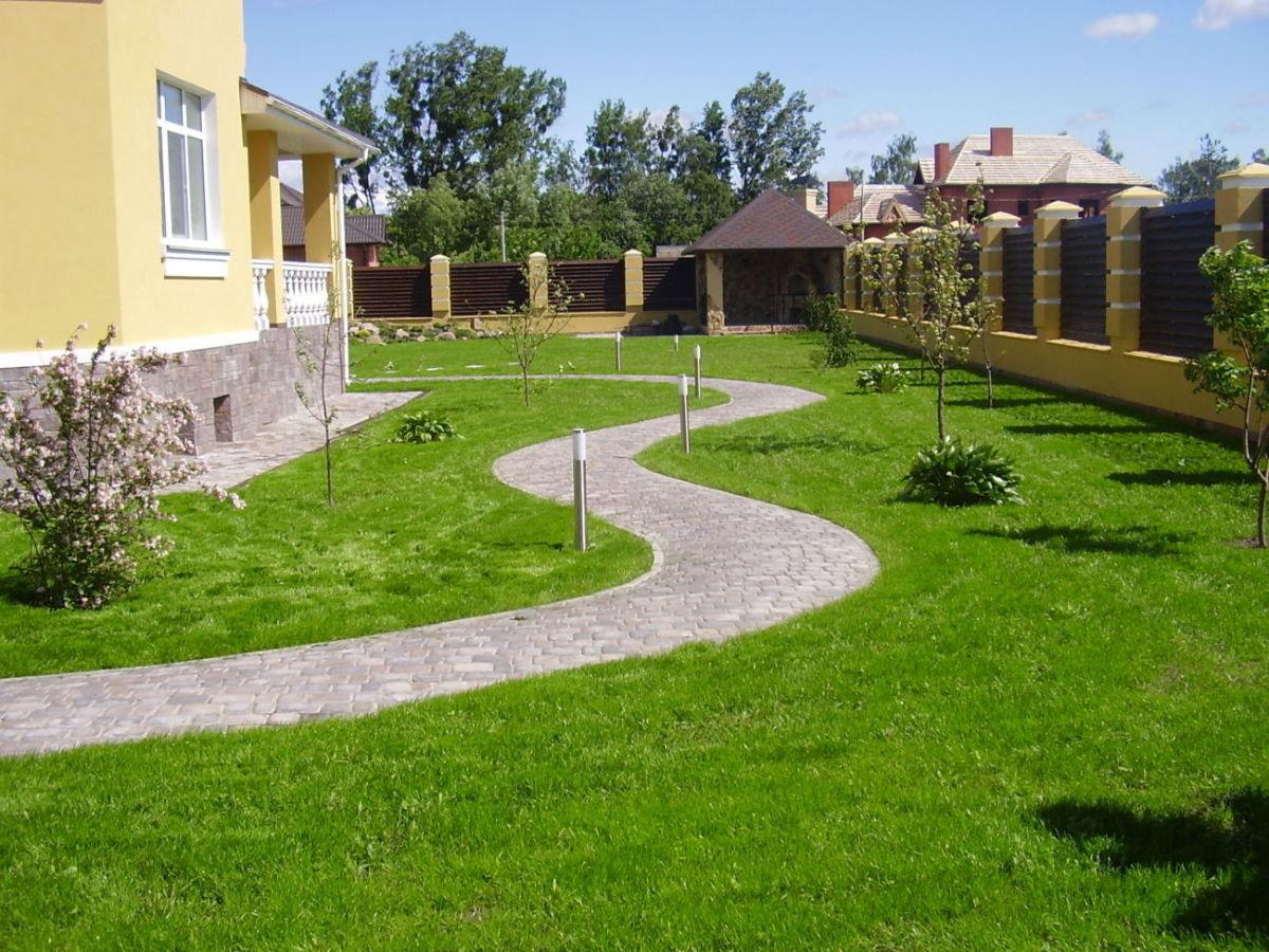 Посів газону, комплексний догляд за садом і газоном