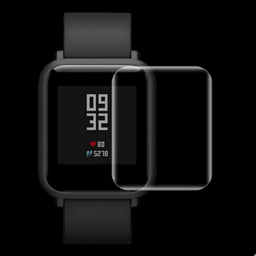 Защитная силиконовая 3d пленка  для Xiaomi Amazfit Bip
