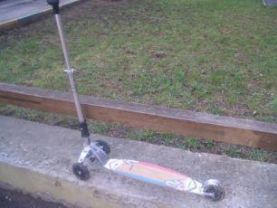 Самокат трехколесный до 100 кг K2 revo kick scooter
