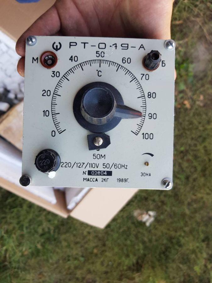 Регуляторы РТ-049-А . температуры,  0-100грд. 220\127/110в. - 1шт.