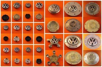 Колпачки заглушки Volkswagen 56,60,65,70,76,135 звезда на литые диски