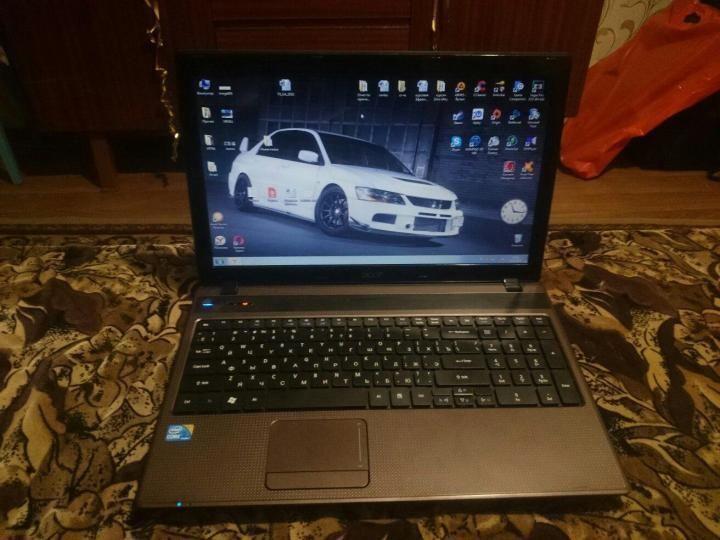 Большой, красивый ноутбук, в хорошем состоянии Acer Aspire 5742