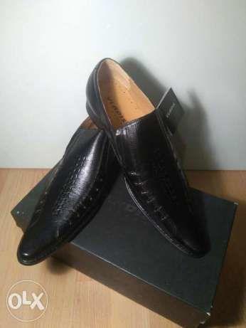 Новые мужские кожаные туфли VLADIS 44 размер
