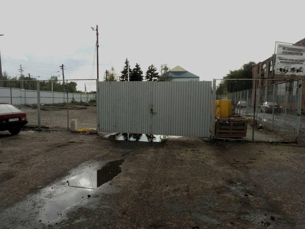 Аренда площадки с ж/д подъездом в Чугуеве(под склад, производство, СТО