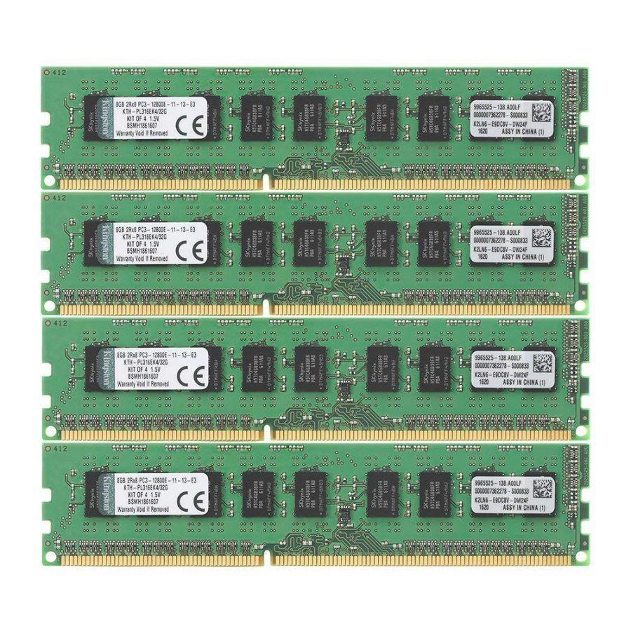 память 8Gb DDR3 для HP Z600 HP Z400 HP Z800 Kingston ECC Unbuffered