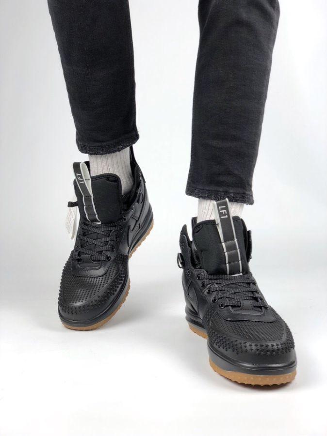 55e965dc Кроссовки Nike Lunar Force 1 Duckboot Black Gum: 1 550 грн ...