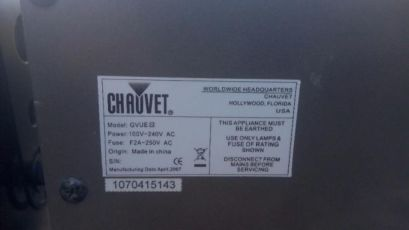 Chauvet VUE III Гарний ефект.Світломузика LED Світло Revo dj 7