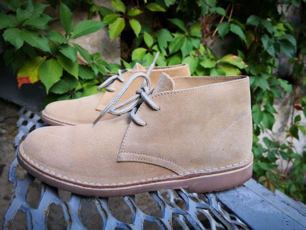 Замшевые ботинки Topytes ( Испания ), низкий ход,в двух цветах.