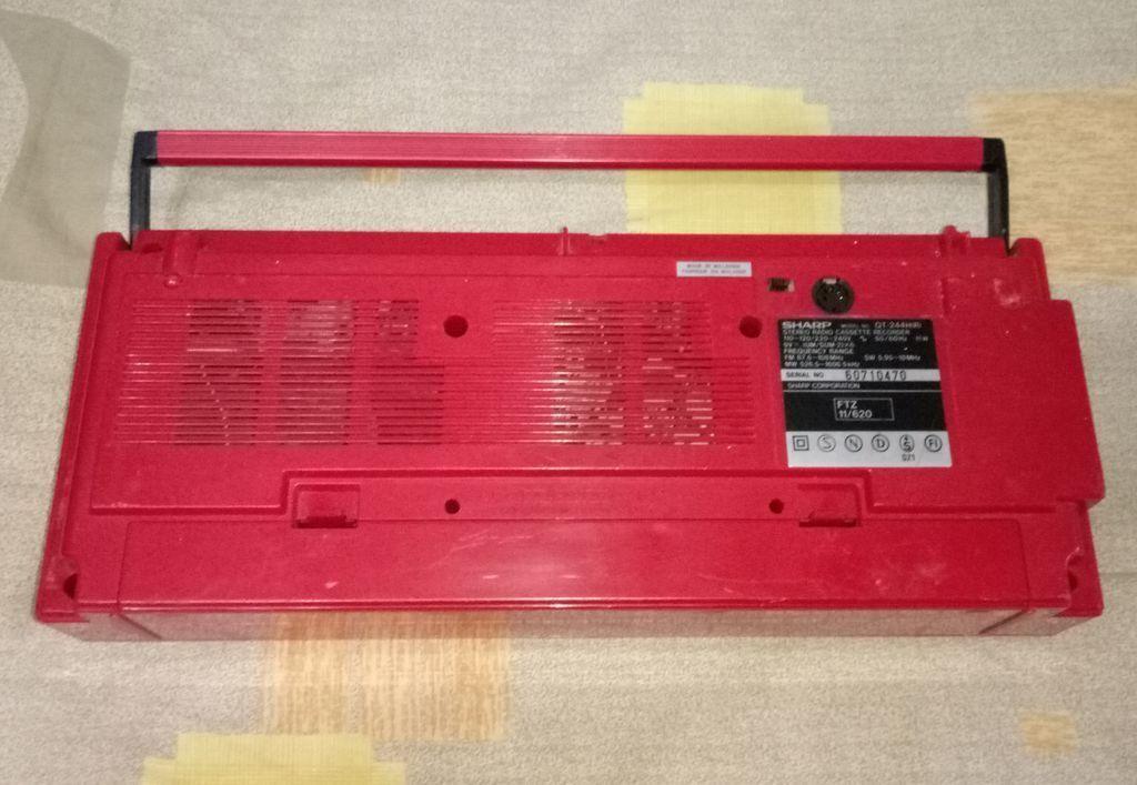 магнитола SHARP QT-244H Japan Magnitola-sharp-qt-244h-japan-photo-2632