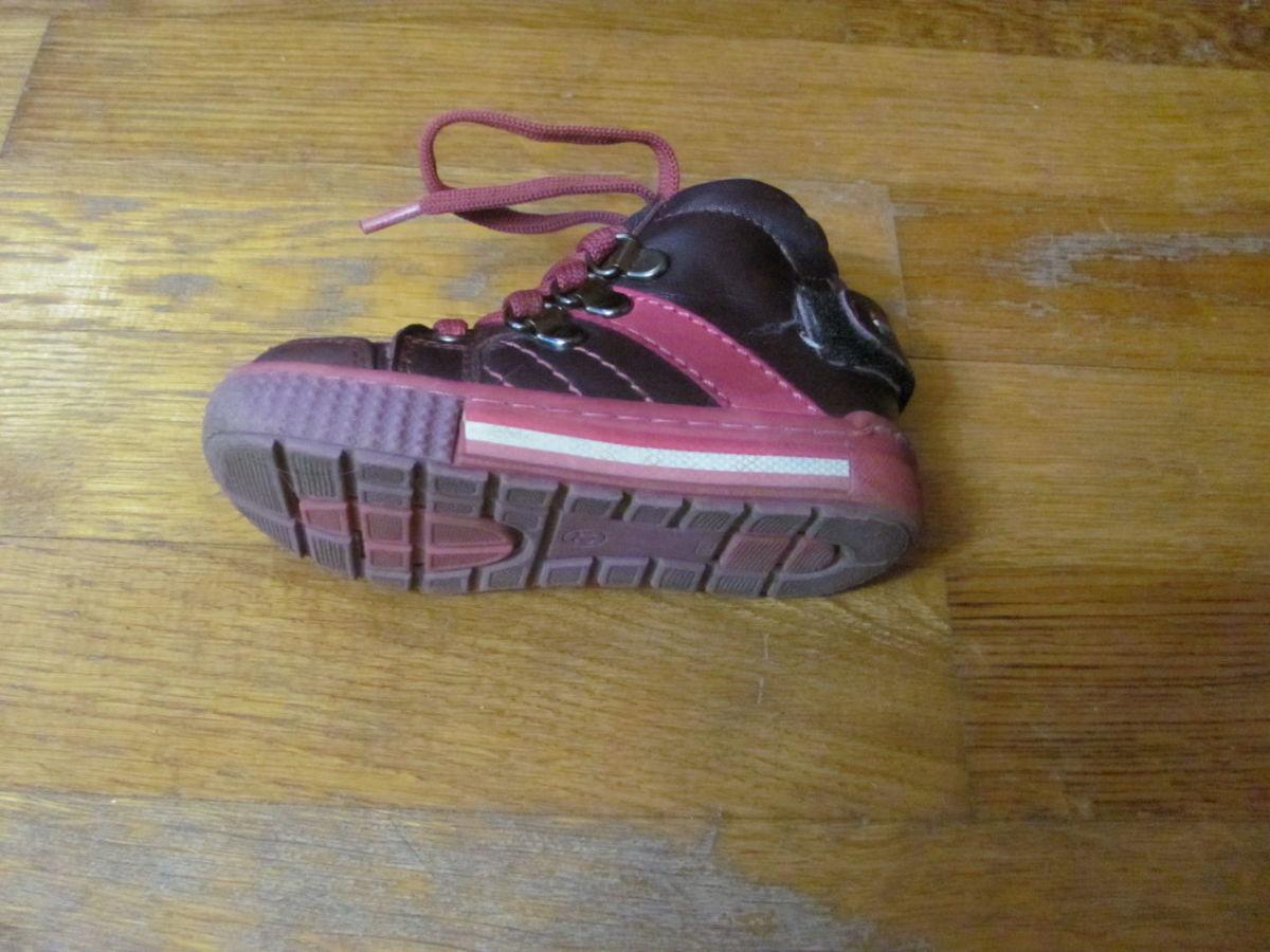 шкіряні турецькі дитячі осінні черевички для дівчинки у хорошому ... ed3e4143f9336