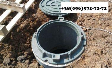 Люк канализационный, люк для ямы выгребной, люк смотровой