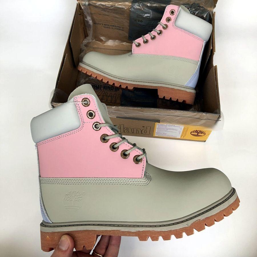 Ботинки Timberland New.Купить женские серые с зеленым тимберленд.  1 ... 7540366c0060f