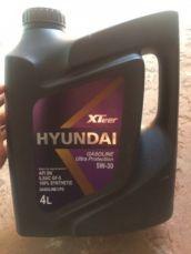 Моторное масло Hyundai XTeer 5W-30