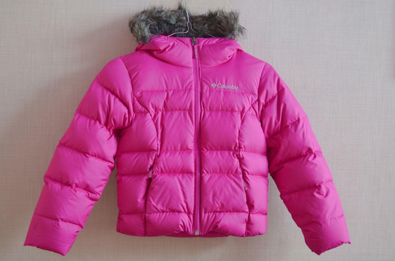 Зимняя куртка -пуховик Columbia для девочки  1 500 грн. - Пуховики ... a32e2823ee7