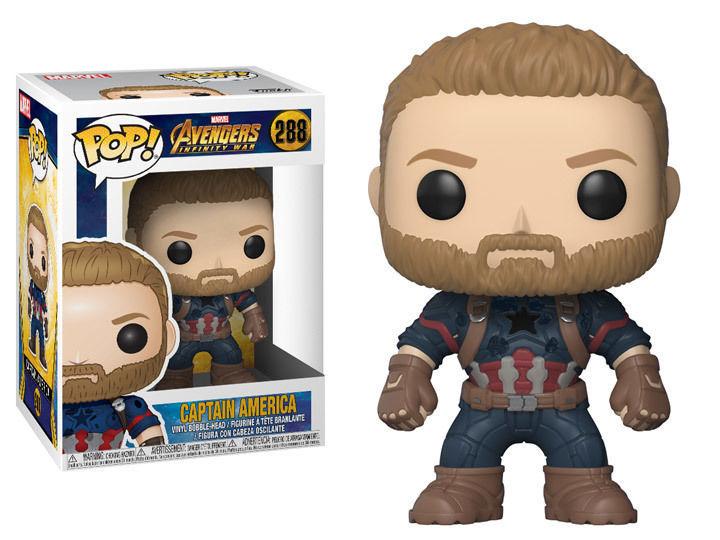 Капитан Америка Funko POP Avengers Infinity War Captain America #288