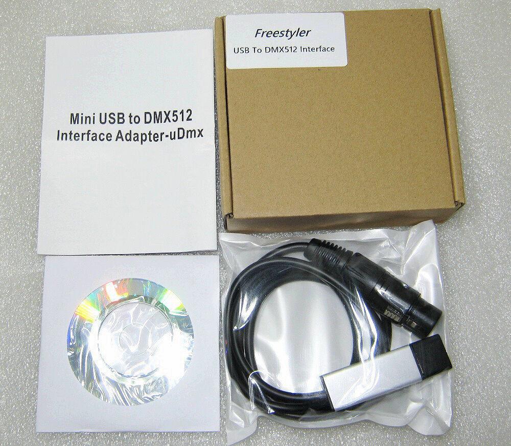 Купить сейчас - Usb Dmx 512 Freestyler контроллер Udmx512