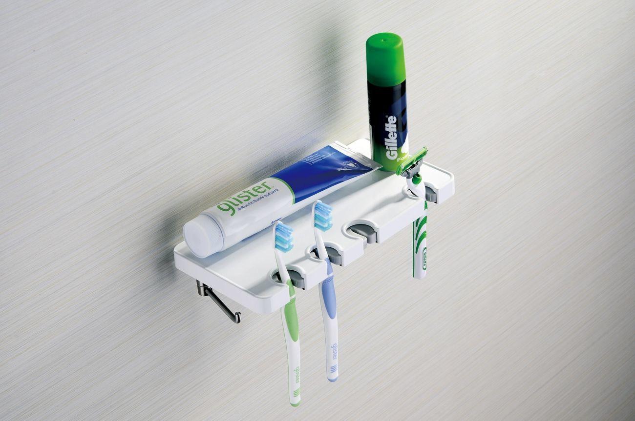 Продам полка с держателем зубных щеток Yacore FAB series F30610WH