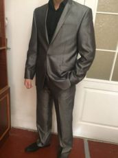 Мужской костюм Mega Italy, отличный вариант для свадьбы (свадебный)