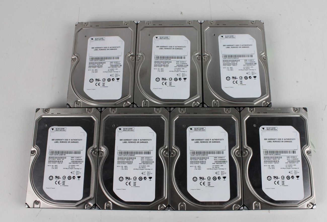 HDD серверные 3TB sas 7.2k IBM SEAGATE Constellation ES.2 ST33000650SS