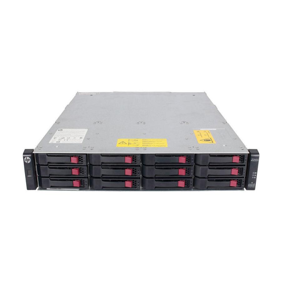 Дисковый массив HP StorageWorks P2000 G3 AW593A 2 БП + 2 AW592A