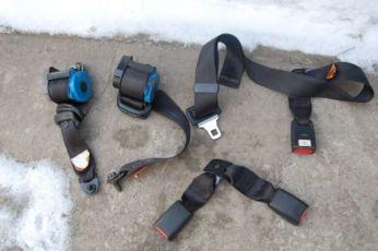 Инерционные Ремни безопасности заднии боковые Lanos, Ваз 2107 ,2109