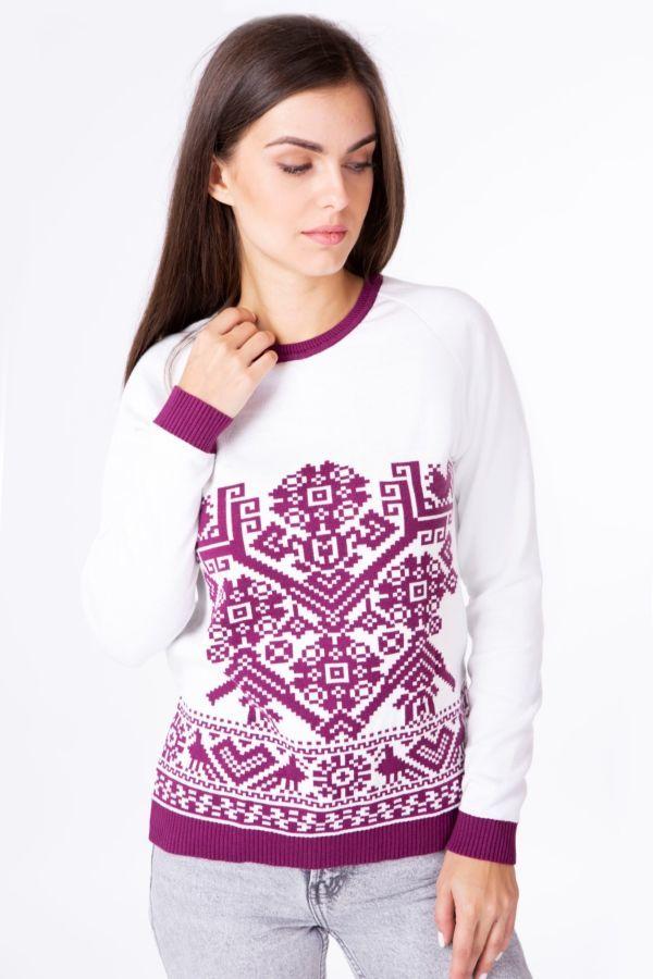 Жіночий в язаний светр від дизайнерів  719 грн. - Свитера 9f8eef9bbb5c3