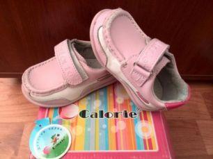 Туфли, туфельки calorie,калория, мокасины 21 для девочки+подарок