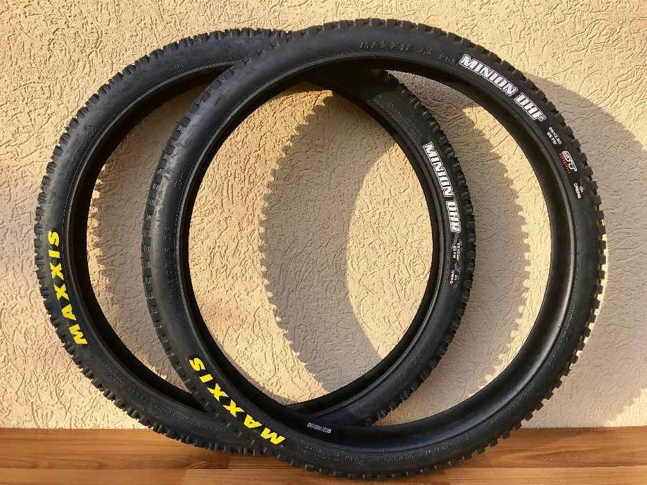 dc0d6125beef0f Комплек покришок - Maxxis Minion DHF/DHR ST DH Casing - 26x2.5: 1 ...