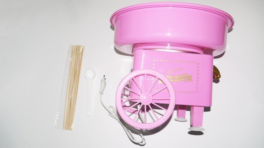 Аппарат для приготовления сладкой ваты COTTON CANDY MAKER средний
