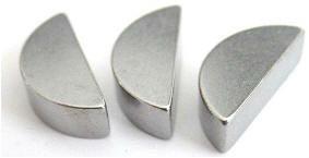 Шпонка сегментная полукруглая ГОСТ 24071-97, DIN 6888, ISO 3912