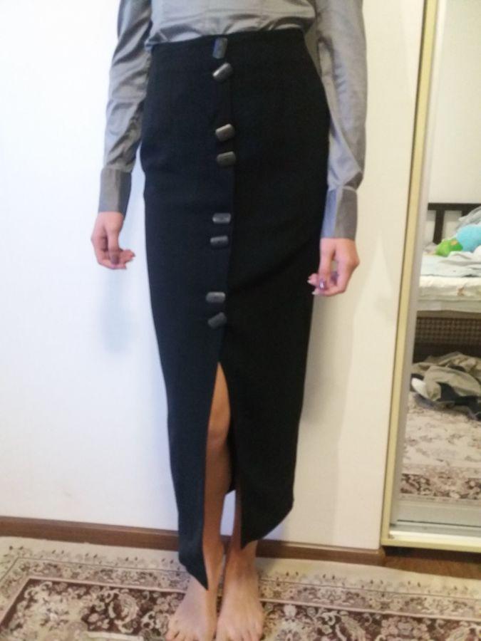 Продам юбку чёрную